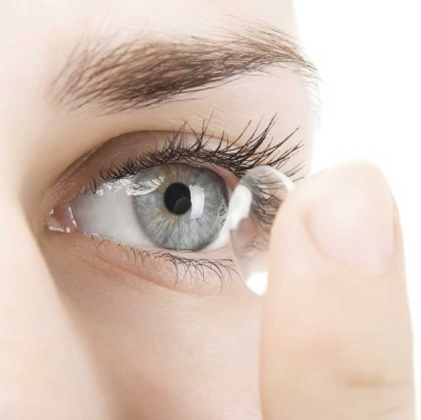 Can a Contact Lens get lost or stuck in my Eye?