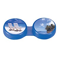 Picture Contact Lens Storage Case