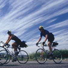 Cyclists given eye protection advice