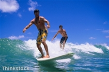 "Laser eye surgery improves surfer""s eyesight ""in one day"""