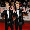 Jedward model coloured contact lenses for promotional tour