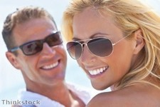 """Sunglasses """"provide year-round eye protection"""""""