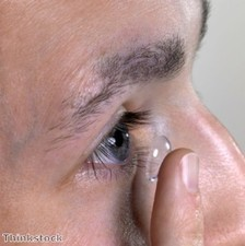 "Contact lenses ""a very good solution"" to poor vision"